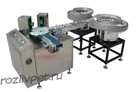 Автомат для закрывания клапана flip-top пластиковых крышек ФР-ШЖ2