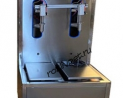 Полуавтомат для дозирования жидких продуктов взвешиванием
