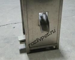 Полуавтоматическое оборудование предназначенное для механизации процесса снятия крышки с 11 и 19 литровых бутылей.