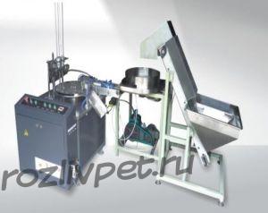 ФРТБ-ЗУ 5 (автомат для вкладывания вкладышей в крышки 19л бутылей)