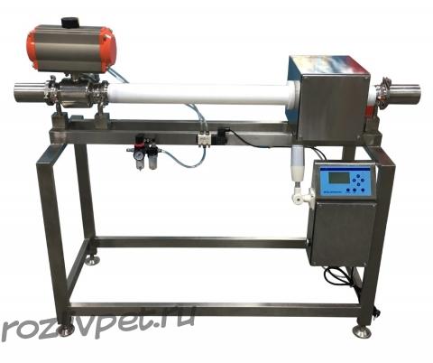 Автоматический металлдетектор для жидких и густых продуктов