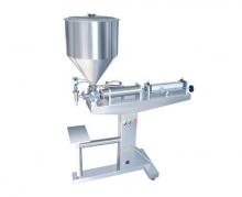 поршневой полуавтомат для розлива вязких жидких продуктов